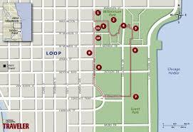 grant park chicago map architecture tour chicago raffaello chicago hotel