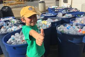 meet the 7 year old boy who runs his own recycling business