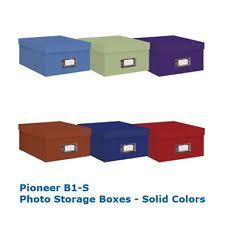 pioneer jumbo scrapbook storage box pioneer cardboard photo storage boxes ebay