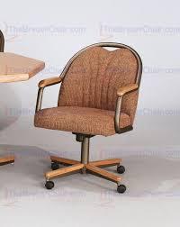 Swivel Tilt Dining Chairs by Core C188 Swivel Tilt Caster Arm Chair