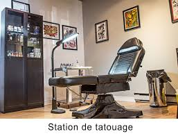 table de tatouage studio zen tattoo stérilisation