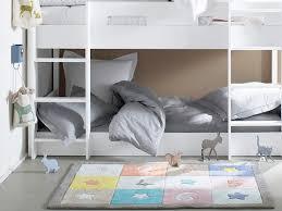 tapis chambre enfant tapis pour chambre fille tapis rond chambre enfant bloom field en
