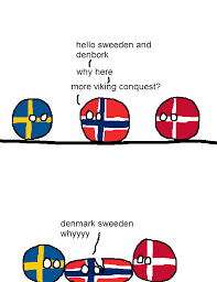 Norway Meme - norway s perfect family polandball