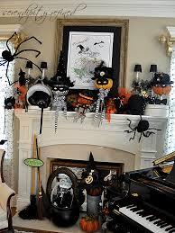 halloween mantle halloween mantel decor and faux fireplace