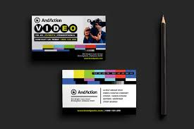 videographer business card template for photoshop u0026 illustrator