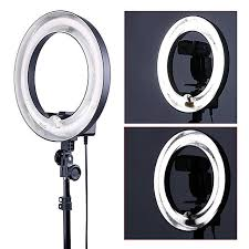 camera and lighting for youtube videos neewer 14 dimmable ring light 50w 400w equivalent continous