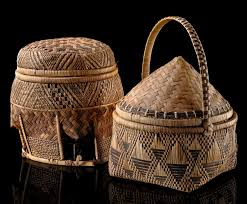 africa two storage baskets from the democratic republic of congo