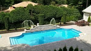 Inground Pool Ideas Best Semi Inground Pools Ideas