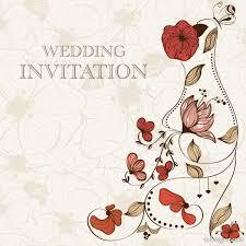 invitation card cartoon design 4 designer hand drawn cartoon wedding invitation card vector