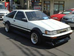 toyota corolla gt coupe ae86 for sale car on track trading