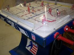 best table hockey game bubble hockey history how dome hockey was invented bubble air