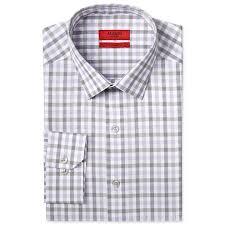 van heusen traveler fitted large check dress shirt u2013 menclothm