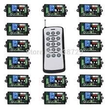 remote control on off light switch 2018 light switch wireless remote control 220v 15ch rf on off for