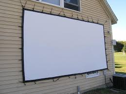 Backyard Outdoor Theater by How To Set Up Your Own Outdoor Home Theater Digital Trends