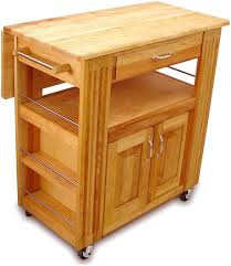 kitchen island cart with drop leaf catskill craftsmen portable kitchen island of the kitchen w