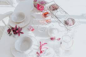 Shabby Chic Tablecloth by Shabby Chic Valentines Day Tablescape Inspiration Katusha