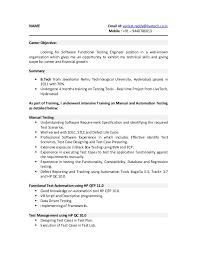 Agile Testing Resume Sample Qa Tester Resume Resume Templates