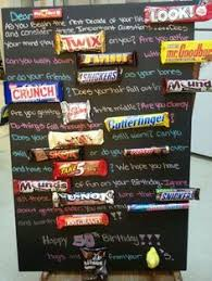 candy for birthdays candy bar poem diy gifts candy bar poems poem and bar