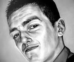 Peinture Noir Et Blanc by Portrait D U0027un Jeune Homme Seb Peinture