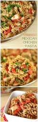 6 ingredient mexican chicken pasta the weary chef