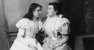 How Old Was Helen Keller When She Became Blind Anne Sullivan The Irish American Who Taught Helen Keller To Speak