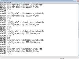 membuat web html proyek 3 proyek web html menggunakan notepad