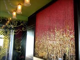 pomegranate gold beaded curtain memories of a butterfly buy