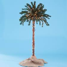 3 d pre lit palm tree plus size outdoor lighting fullbeauty