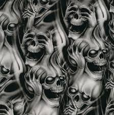 ghost smoke skull designs clipart library