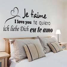 stickers muraux citations chambre stickers foormiz stickers amour traduction chambre parents