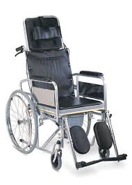commode folding recliner wheelchair rainbow 8 karma bhagwati in