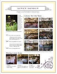 Table Linen Sizes - wedding linens u0026 table design for montana wedding receptions