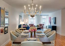 livingroom diningroom combo surprising living room dining 44 chairs serve as a divider
