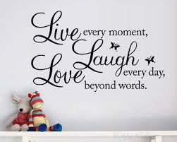 live laugh love laugh love quotes wall decal life quote vinyl art stickers