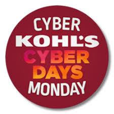 kohl s cyber monday sale 20 10 50 get free