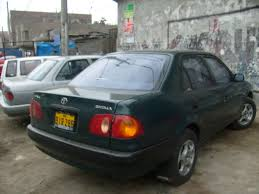 Toyota Corolla 2001 S Toyota Corolla 1 6 2001 Technical Specifications Interior And