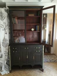 antique apothecary cabinet bookcase dresser glass display