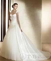 winter wedding dresses 2011 glorious sweetheart staps floor length taffeta wedding dress