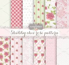 shabby chic pattern green rose patterns creative market