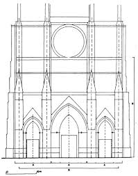 Parts Of A Cathedral Floor Plan by 3 3 1 2 2 The Latin Cross Type Quadralectic Architecture