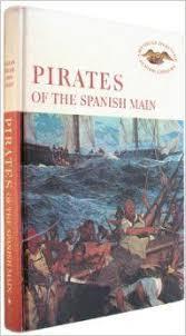 pirates caribbean pirates spanish main book