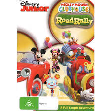 mickey mouse clubhouse road rally dvd big w