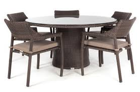 Dining Table For 4 Nico Square Dining Table For 4 With Glass Top