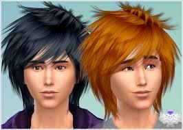 cruddy temp haircut fade hair by infisim sims 4 nexus