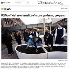 Benefits Of Urban Gardening - the commercial appeal usda official sees benefits of urban