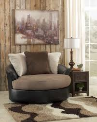 Large Accent Chair Ottoman Dazzling Fascinating Masoli Mocha Faux Leather Fabric