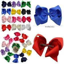 boutique hair bows 12 pcs 8 inches big bow clip boutique hair bows for