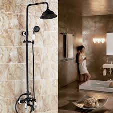 Bathroom Shower Systems Rubbed Bronze Bathroom Shower Set