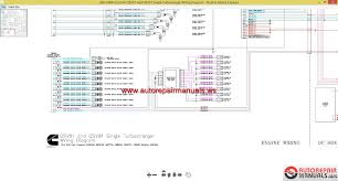 cummin qsv81 and qsv91 single turbocharge wiring diagram auto