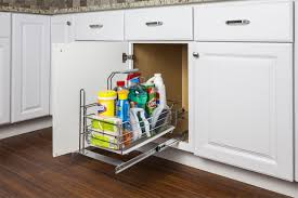 kitchen sink cabinet caddy the sink cleaning supply caddy pullout with handle scpo2 r
